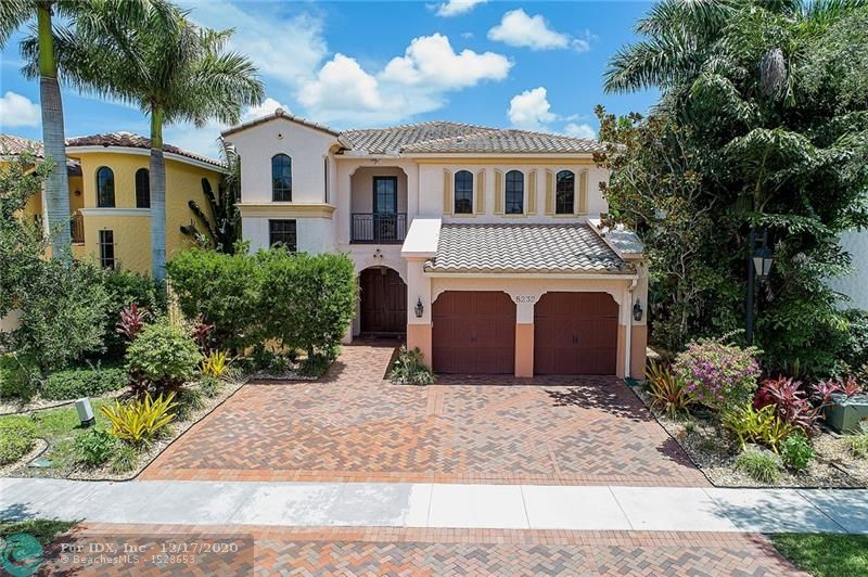"""Serene Lakeside Presence Optimizes Enjoyment Of This Elegant, Meticulously Maintained Residence• Feel Energy Secure With Natural Gas Generator Powering 110/220 VAC• 1st Floor, Accentuated With Marble Flooring, Accommodates 1 Bedroom, Capacious Family, Dining And Living Areas, Full Bath, Breakfast Area Overlooking The Lake And Your Fully Equipped Kitchen Furnished With 42"""" Wooden Cabinets With Granite, Stainless Steel Appliances And Expanded Snackbar• Wooden Stairway To Lofty Views Enhanced By Skyscraper Style Windows Leads To 2 Bedrooms, Full Bath,  PLUS Theatre/Media Room And Owner's Suite With Grande Lake Views• Crown Molding• Plantation Shutters• Community Swimming Pool, Spa, Tennis Courts, Fitness Center, Dining, Children's Center And More• Enjoy The Lifestyle You Deserve Now!"""