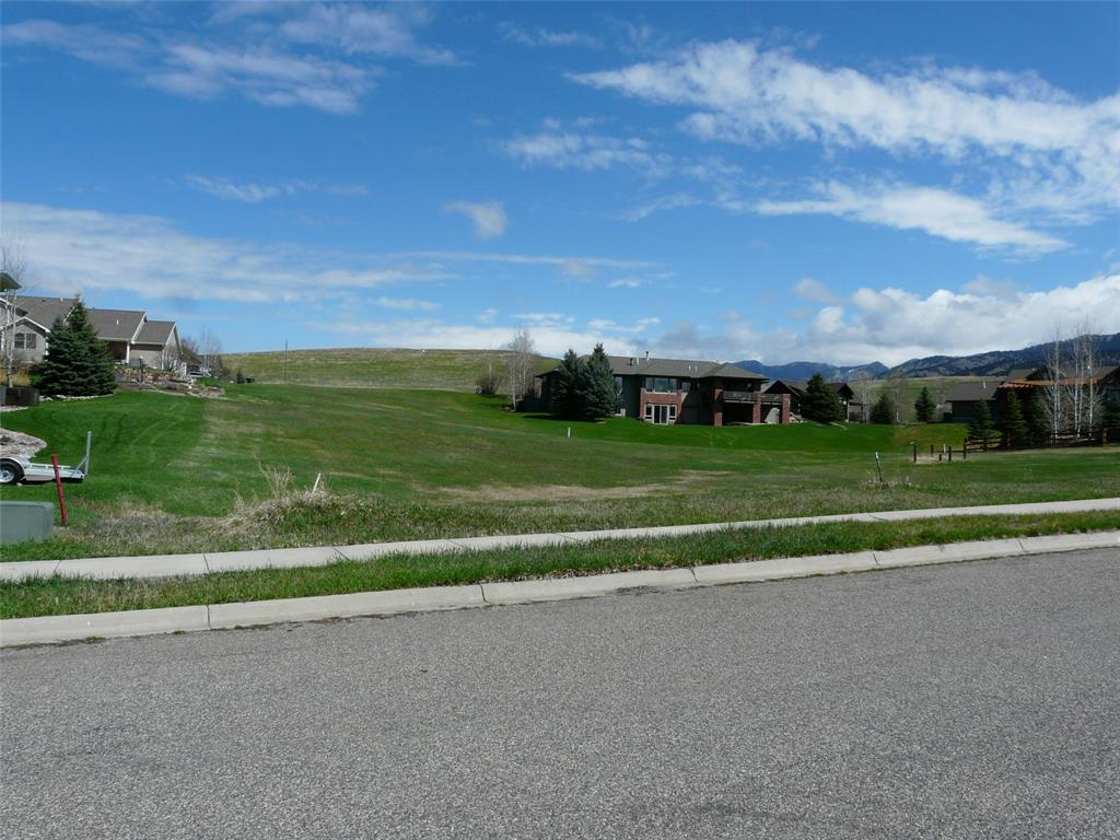 This is a large lot in an area of large custom homes that is convenient to the city of Bozeman and all it has to offer plus flyfishing in nearby streams, skiing at Bridger Bowl, cross country skiing and golfing at Bridger Creek public golf course. The rolling topography makes the lot ideal for a multilevel home with walkout basement, tuck under garage and great landscaping accents. Adjacent lot also for sale and both lots are priced to sell.