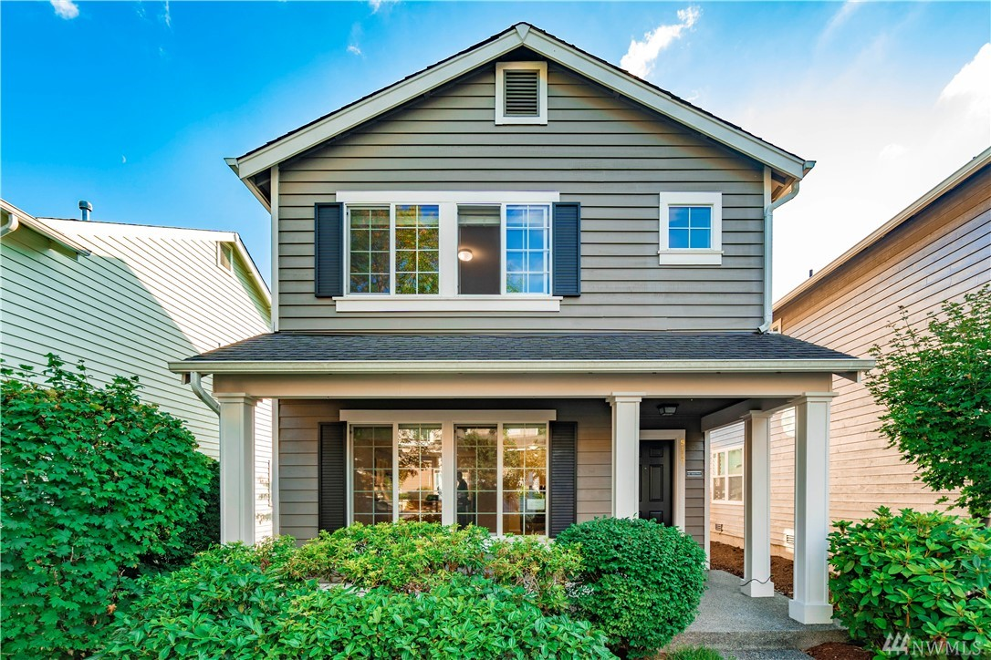 Amazing NE facing, sun-drenched, better-than-new home in Redmond Ridge. This home offers an open concept living & dining area with gleaming floors, light filled kitchen with island, pantry, bonus mud rm with laundry, 2-car garage & patio. Exquisite upgrades include NEW quartz counters, sinks and faucets in kit & bthrms, gas furnace, garage door opener & SS appliances. Excellent location with short walk to parks/trails, min to shopping, restaurants, MS Connector & AWARD winning schools!
