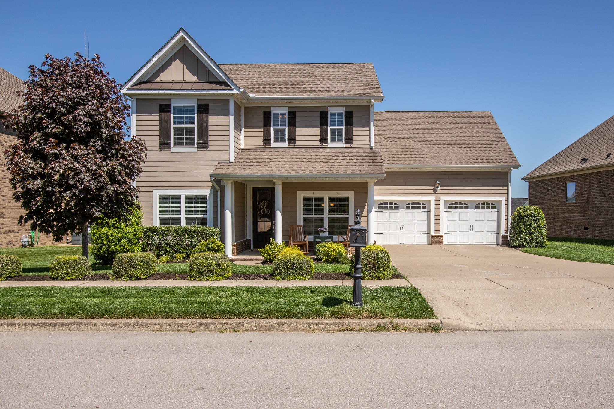 Entertainer's dream home! Wide open living areas, tons of unique features including shiplap, beams, and board & batten walls. Fresh paint and new landscaping make this home move in ready! Oversized secondary bedrooms mean the whole family will love this one! Come enjoy your summer on this expansive front porch just a few houses from the pool and playground.
