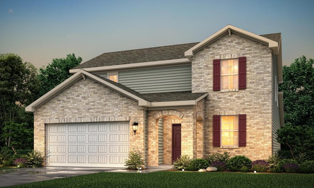 Brand new homes in a brand new community!  Pennock Place is open and featuring the Calderwood plan.  Master on the main floor with spacious great room, beautiful kitchen and study.  Three bedrooms upstairs with awesome game room for the kids.  Covered patio for fun times outdoors.