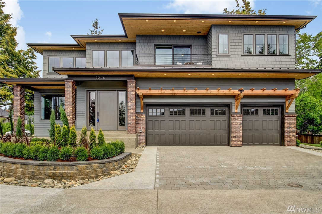 "Another Stunning 5212 sq.ft Luxury Home built by PAG FINE HOMES! Great Lake, Mountain view from main and upper levels. Gourmet Kitch. feat. Wolf Appl. and 48"" Subzero refr.  Great room with moveable glass wall syst. that is connect. to the patio w/fire place. Lower level feat. game/entertain./home theater rm. with 2nd kitch. and bar.  Wine Cellar w/temp. control 900+ bottles, to protect and display your prized collect. Radiant heat on all 3 levels.   Tankless water heat. w/recirculation pump"