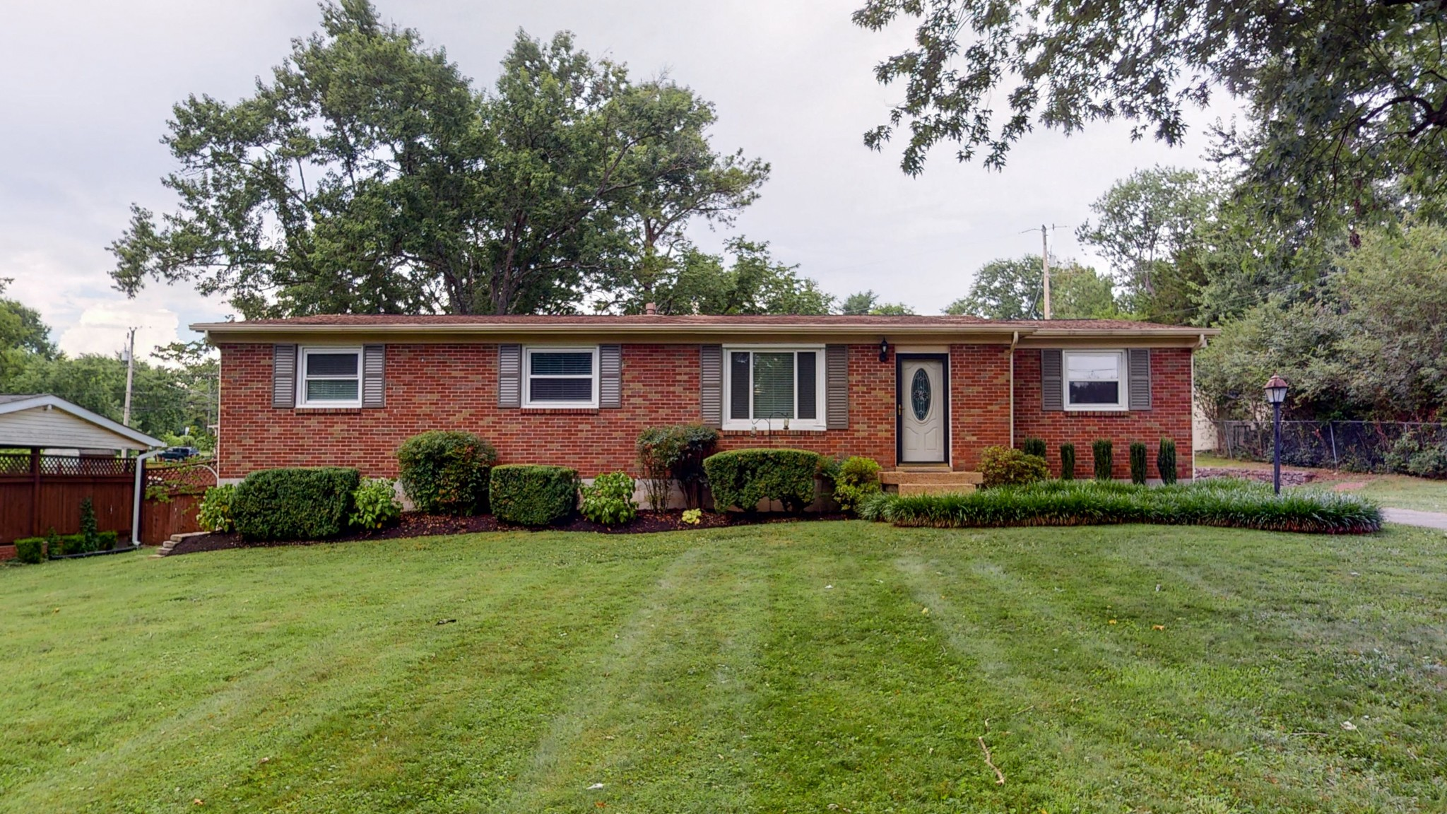 Lovingly maintained for over 30 years. Stunning updated huge kitchen, vaulted ceilings with separate den and large living room.  Recent updates include painting throughout and refinished hardwood floors.  Huge level treed front yard, located in the great community of Donelson.