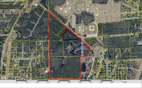 Spectacular location with ample visibility from one of Lake City's busiest roadways - Bascom Norris Drive! 13.50 acres in the City zoned CI and CG; remaining parcels are in the county with RSF-2 zoning