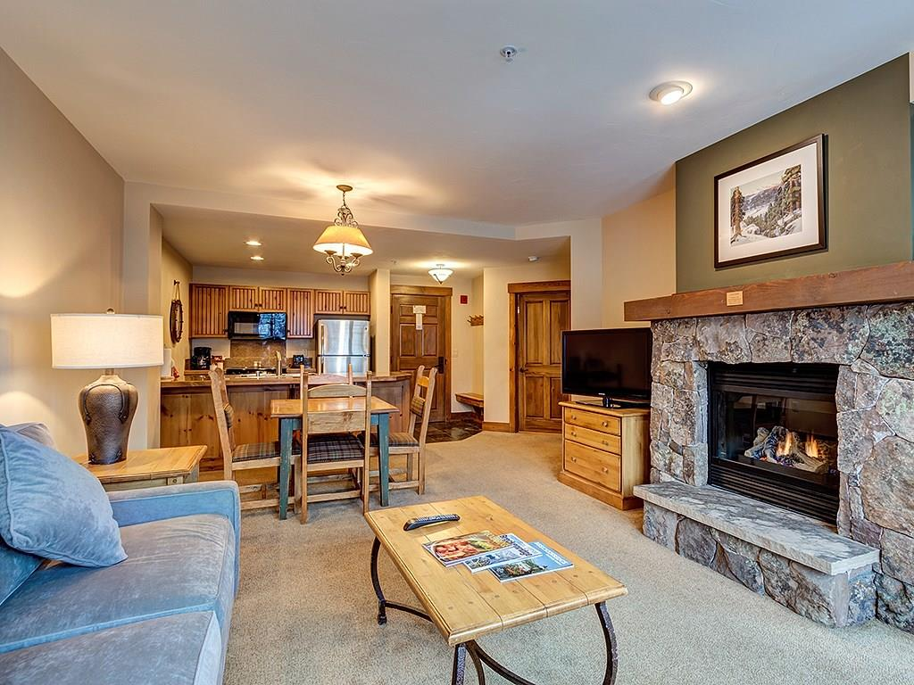 Ski In to this beautiful Condo after a day on the slopes!  Walk to the Gondola and Main Street, or take the Private Shuttle to the Mountain or anywhere else in Town.  Gorgeous Views to Peak 8 and Baldy Mt. In Excellent Condition with Many Upgrades!  This is truly one of the prime condo complex's in Breck. Outdoor Pool and Hot Tubs, Exercise Room, Underground Parking, and Amazing Rentals. You also have access to the amenities at One Ski Hill Place including the Bowling Alley and Aquatic Center.