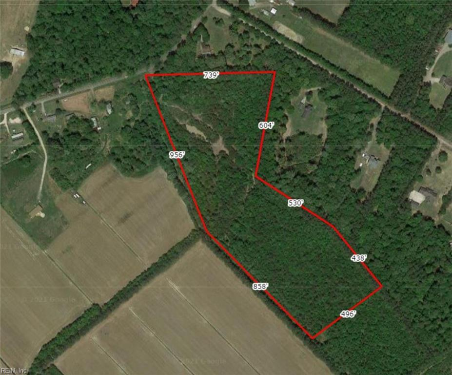 Looking for a private tract of land for possible home sites? This Wooded 20+- acre property sitting just South of the VA /N.C. line centrally located between HWY 17 and 168. Property is close to military bases, restaurants, shopping and beaches. Prime area for sustainable living, hobby farm, large gardens or hunting . According to Army Corp documents, only 1.58 acres is considered wetlands.