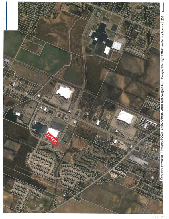 Great location in Monroe's Business District.  Master Plan Multiple--Zoning Commercial.All data/measurements are approximate and should be verified.