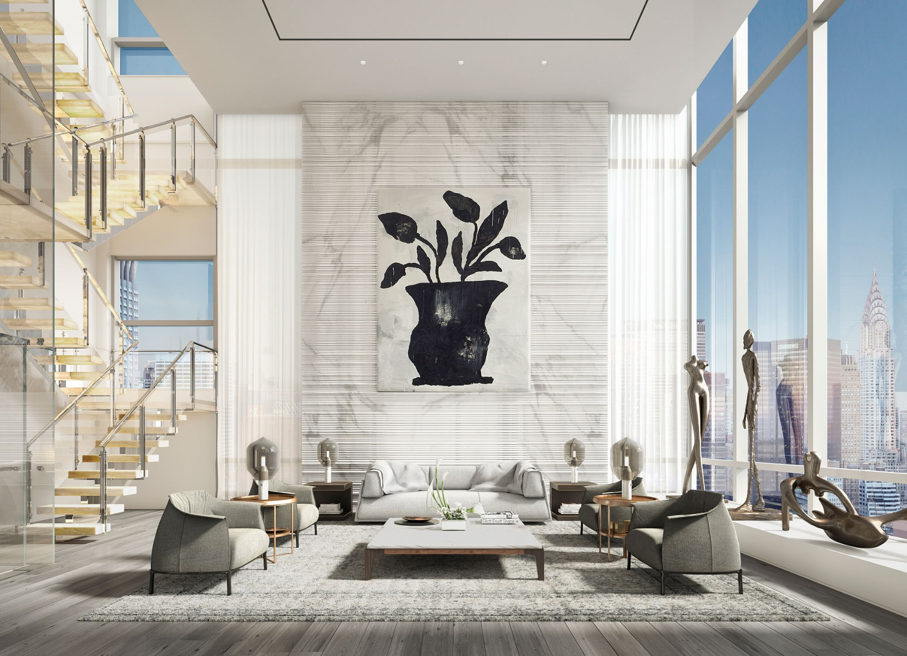 172 Madison Ave Le Penthouse
