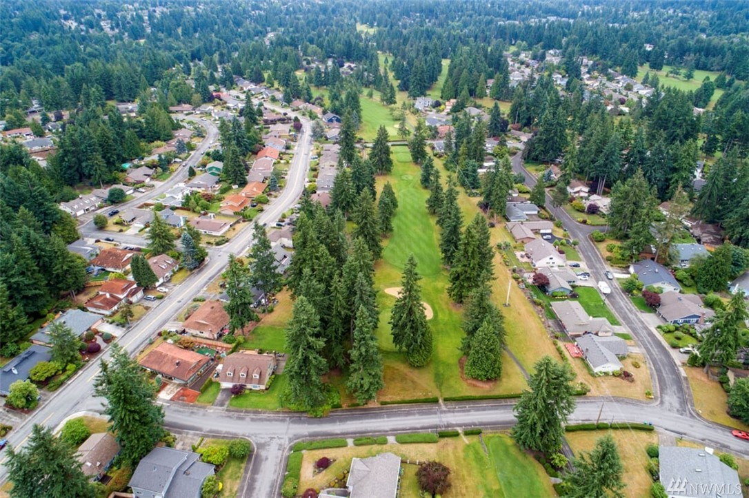 Welcome home to desirable Fairwood Greens! This charming 4bed/2bath home sits on the 6th green. Living rm features a wall of windows allowing ample natural light & stunning views. Open sight lines from kitchen to family room. Spacious master suite with 3/4bath, 3 additional guest bedrooms & full guest bath. 50yr Euroslate roof. Amenities include 24/7 security patrol, parks, well-maintained homes & quiet streets. Easy access to freeways, airport, hospital, major retail, dining & business hubs.