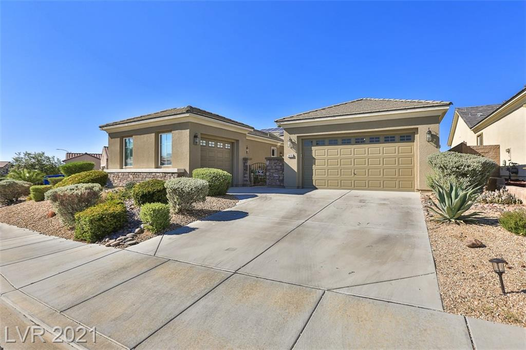 WELCOME HOME!!  Single story home in the heart of Anthem. Beautiful large backyard with an amazing pool.  Large windows everywhere allows you to enjoy the view of the backyard.  3rd garage was converted into a casita like room, it even has a separate dinette/kitchen area.  Kitchen area is very open and spacious.  Primary bedroom has its own sliding door to the backyard.  If you're looking for your forever home in one of the best communities in Henderson/Las Vegas, this is it.  WELCOME HOME!!