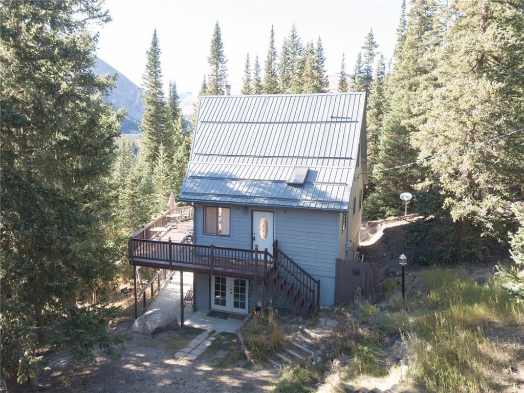 PICTURE PERFECT MOUNTAIN VIEWS! Desirable location on the east side of Placer Valley with direct access to Hoosier Pass. Short drive to Breckenridge! Great indoor set up with a gathering space & bedroom on each level! Big wall of windows facing west allows you to enjoy the views from inside or out. Large deck & large patio... ready for BBQs, sunbathing or happy hour! Connected to natural gas! Near awesome hiking, biking, fishing, skiing, sledding... Partially furnished & ready for ski season!