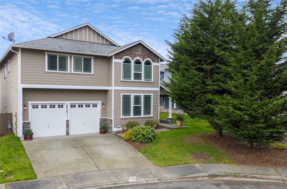 Needing a little more space? This 3,285sqft immaculate University Place home has it all. Located in a private cul-de-sac directly across from Cirque Park & just 1.8 miles to Chambers Bay golf & trails. Multiple open living spaces for entertaining & making your own. The beautiful maple hardwood floors were just refinished & shine! Enjoy a stunning kitchen with granite counters, huge walk-in pantry, breakfast bar & nook. Downstairs offers a formal dining, family, & living room with gas fireplace. The spacious primary suite features a 5-pc bath with large walk-in closet & abundance of natural light. This well-maintained home also showcases 4 addt'l bedrooms, an oversized bonus room, & tons of storage. Located in desirable UP School District.