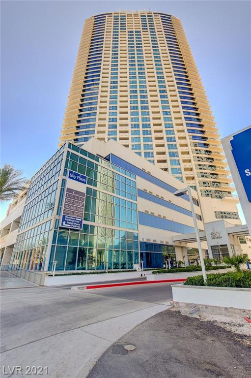 """ENJOY RESORT-STYLE LIVING HIGH IN THE """"SKY"""" ON THE FABULOUS LAS VEGAS STRIP! THIS SPACIOUS, HIGHLY UPGRADED CONDO OFFERS 9' CEILINGS, SEPARATE MASTER SUITES WITH EXQUISITE BATHROOMS. THE LIVING AREA OPENS TO A BREATHTAKING BALCONY WITH MOUNTAIN AND CITY VIEWS! CHEF'S KITCHEN HAS GRANITE COUNTERTOPS & MARBLE FLOORING. CONCIERGE SERVICE, POOL & SPA OASIS, SAUNA, GYM, RACQUETBALL, BBQ, THEATER & BUSINESS CENTER. AWESOME!"""