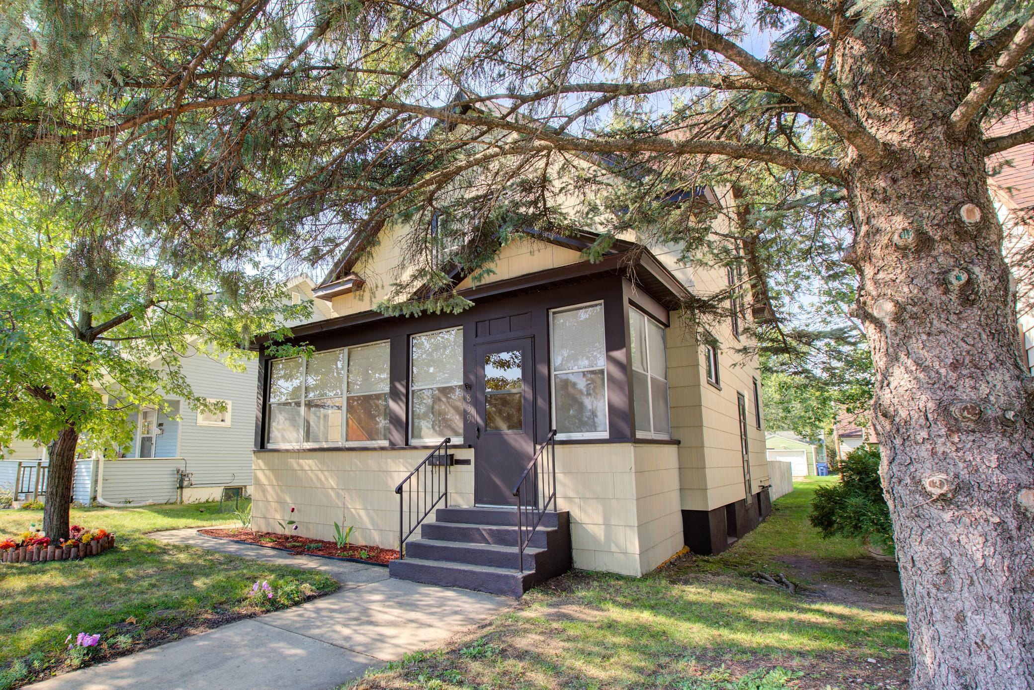 Fabulous starter home in the heart of downtown. Newly refinished maple floors. 3 bedrooms on one level fresh paint. Double master bedroom closets. Close to Lake George, St Cloud State, & Downtown. You will like the cedar fenced in backyard.