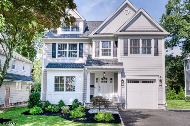 Welcome to this fully finished 4 level, turn key, open concept, smart home located in a quiet neighborhood w a private tree lined yard & is steps away from NYC trains. This stunning house was newly constructed in 2020 w premium quality materials & was upgraded even further over the past year w no expense spared. Home boasts 9' ceilings on 1st floor & basement; 3rd floor bedroom w en-suite full bath, custom white kitchen cabinets w massive gray custom 8'x5 ' double-thick quartz island w under-cabinet lighting & black hardware, Viking appliances, Sharp drawer microwave, butler's pantry w under-counter 2 zone double door wine fridge, custom Hunter Douglas interior window shutters, high-end lighting fixtures, custom outfitted closets throughout w 2 large walk-in closets in primary bedroom,  2nd floor laundry room w built in cabinet hampers & includes LG Styler (steamer closet) & GE Washer/Dryer w auto-dispense & ventilation functionality, a garage/workshop w cabinets/shelving & ProSlat wall organizers, large maintenance-free Azek & PVC deck, Ring security system w multiple window/smoke/flood/freeze sensors, Ring Elite ethernet doorbell & full surrounding house cameras, 2 Yale smart locks w keypads, Lutron Caseta Smart Light Dimmers & switches, Nest Thermostats, in-ceiling Sonos speakers in kitchen & DR, Rachio smart sprinkler controller, gas FP, maintenance free gutters w guards, oversized lit mirror in primary bath w anti-fog heaters & elaborate woodwork & moldings throughout.