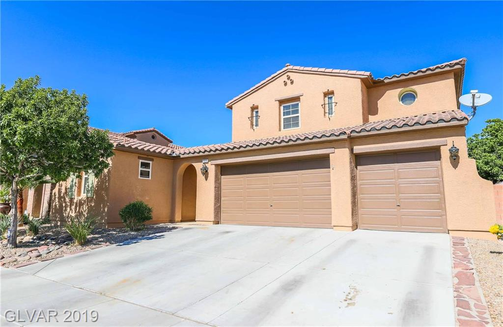 Great Home & Location in Aliante.Approx 3,000 Total Living SqFt Incl Casita.Independent casita +a den +4 more rooms, 1 down stairs and 3 up stairs.Tile Floor, Bedroom w/Carpet, Full Bath,Separate Laundry Room w/Washtub. Kitchen: Granite Countertops, Back Splash.Upstairs Carpet, Open Loft Office, Master off the Balcony Facing North to Aliante Casino Hotel.A few feet away from Aliante Nature Discovery Park. Rear:Covered Patio, Pool & Pool Bar.