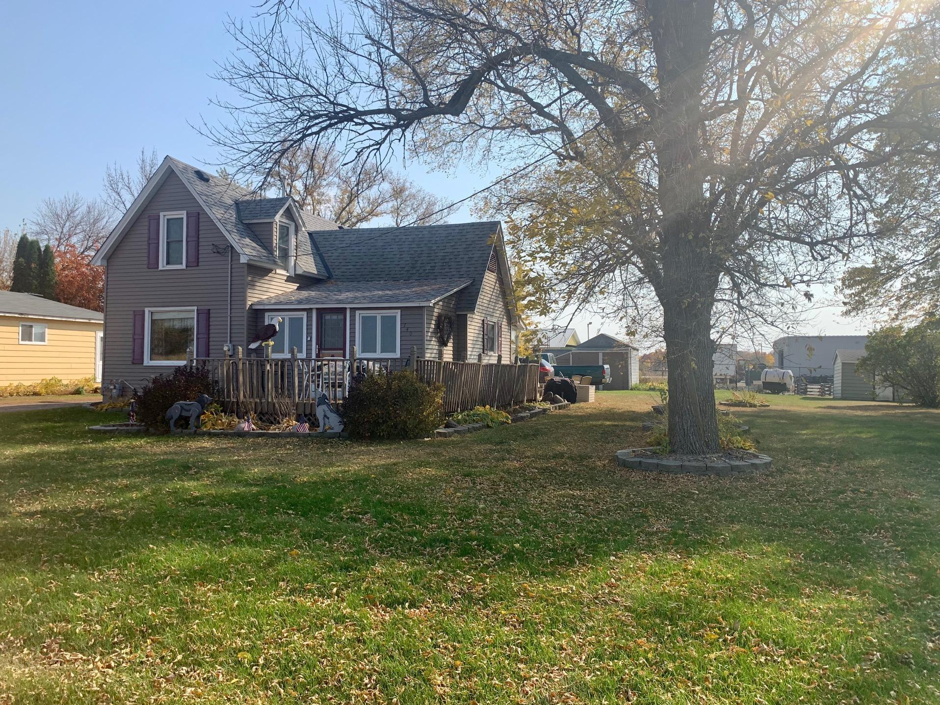 Small town charm in a convenient location. Come see this nicely maintained older home with all of the charm you've come to expect. The expensive upgrades have been done. Yet there is plenty of opportunity for you to build equity as well. Call your realtor today and make your dream of owning a reality.