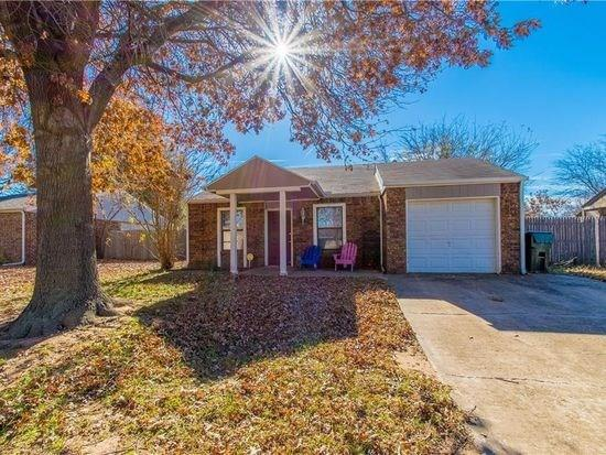 Available 7/15 Home For Lease In Norman, Cute 3 bedroom, 2 bath with huge master and master bath, and plenty of closet space. Lots of upgrades. Tile, wood floors in living and wet areas. Washer, dryer, and fridge included. Must see!