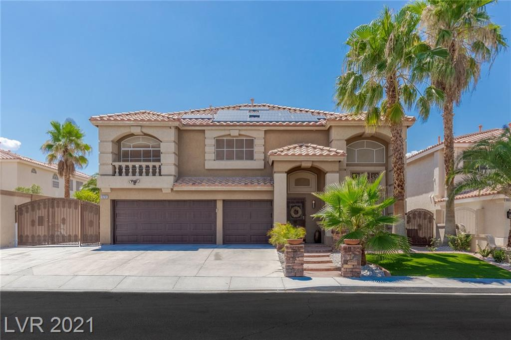 THIS HOME CHECKS ALL THE BOXES, & LOCATED IN THE HEART OF SILVERADO RANCH.  NEXT TO THE RAIDERS PRACTICE FACILITY, NEW SHOPPING & DINING MECCA OF ST. ROSE SQUARE, AIRPORT, ALLEGIANT STADIUM, & THE LAS VEGAS STRIP.    4 BEDS, + LOFT, + DEN, 3 BATH, 3 CAR GARAGE, 2-STORY WITH A POOL, AND OVER 3000 SQUARE FT.  CUSTOM KITCHEN CABINETS, STAINLESS STEEL APPLIANCE PACKAGE, MODERN QUARTZ COUNTERTOPS IN YOUR NEWLY MODERN KITCHEN.  NEW LUXURY VYNYL PLANK FLOORING THROUGH OUT, NEW PAINT, LED LIGHTING, AND MUCH, MUCH MORE.  ENTERTAINERS BACKYARD WITH EXTENDED COVERED PATIO, BUILT IN OUTDOOR KITCHEN, AND SPARKILING PEBBLE TECH POOL & SPA.  LOT HAS A GREAT DEAL OF PRIVACY WITH CUSTOM GATES AND RV PARKING FOR A SMALL BOAT OR OTHER TOYS.   THIS ONE WON'T LAST, ACT FAST!