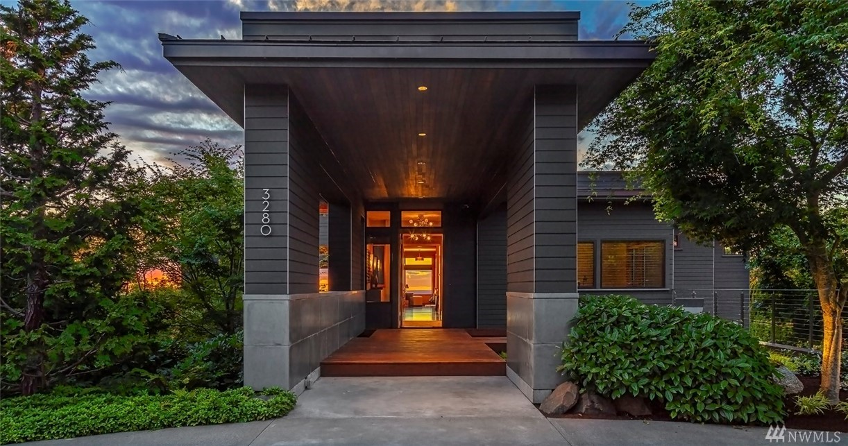 Award winning architect Olson Kundig creates a unique blend of contemporary modern architecture, sustainable materials, and minimalistic design in this impressive Harrison Street masterpiece. Inspired by expansive views, dramatic entertaining spaces, and Zen-like gardens, the home is both elemental and harmonious in nature, combining exotic woods, stone, and metals, with floor to ceiling windows that blur both interior and exterior spaces while capturing a balanced energy and layered interest.