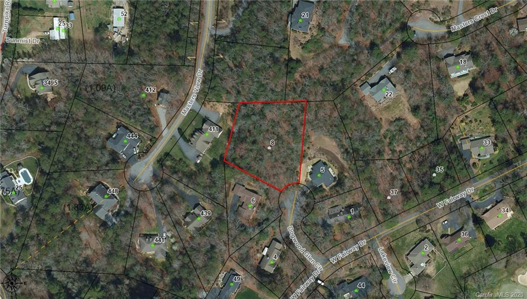 Over 1 acre lot in desirable Golf Mountain Estates. Surrounded by nice upscale homes. Minutes to Etowah Valley Golf Club. Underground utilities. Nice quite end of the Cul-de-sac lot. Looking for a golf course community without the fees? This is it!