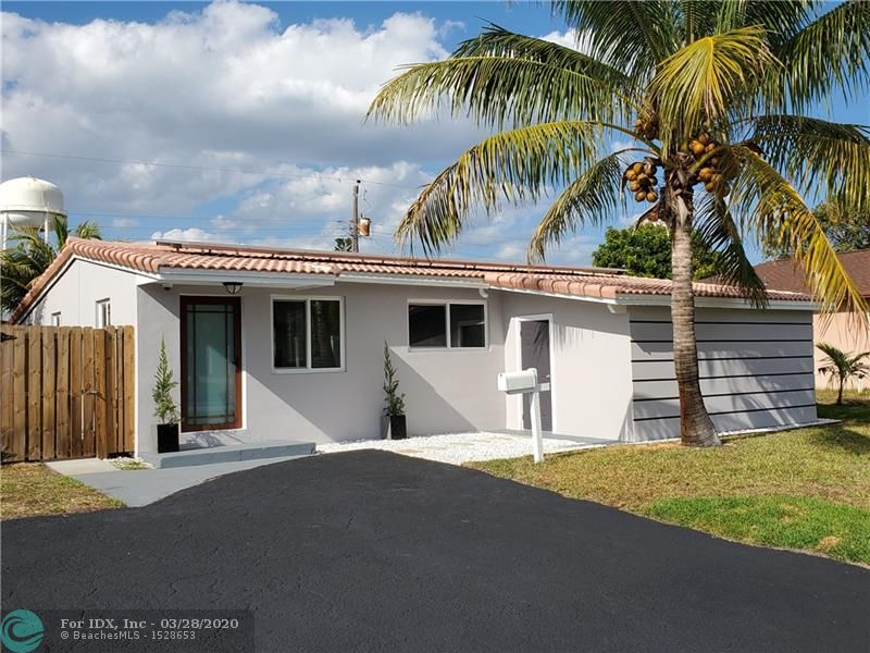 FULLY REMODELED 3/2 PLUS DEN, THIS BEAUTIFUL HOME HAS NEW 32 X 32 EUROPEAN PORCELAIN THROUGH THE ENTIRE HOUSE, BRAN NEW CONTEMPORARY KITCHEN WITH WHITE CABINETS, GRANITE COUNTERTOPS & NEW TOP OF THE LINE SS APPLIANCES, TANKLESS WATER HEATER, SOLAR PANELS, NEVER PAY MORE THAN $12 ON AN ELECTRIC BILL. TASTEFULLY REMODELED BATHROOMS WITH NEW VANITIES, SHOWER PANELS & TILE, NEW DOORS FOR EVERY ROOM & CLOSETS, IMPACT WINDOWS & OUTSIDE DOORS. TILE ROOF IN GREAT CONDITIONS. ALL INSIDE WALLS AND CEILINGS  HAVE BEEN FINISHED AND FRESHLY PAINTED. NEW BASEBOARDS, DEN OR OFFICE WITH SEPARATE ENTRANCE. INSIDE LAUNDRY. LARGE COVERED PATIO. SPRINKLERS IN AUTO. FENCED BACK YARD. NEW GRASS. NEW WINDOWS SEAL IN QUARTZ. GREAT ARE, CLOSE TO THE BEACH, SHOPPING, GYM, MOVIE THEATERS & RESTAURANTS