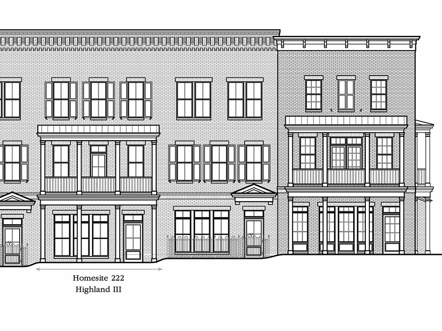 LIVE WORK TOWN HOME AT TOLLGATE.. New Construction ready in October/November 2020. The 2002 s/f Highland is a Gorgeous Open Floor Plan. First Floor Has a 19X11 Retail Office Space. 2 Car Attached Garage. The Highland brings elegance to everyone's lifestyle. The main living level features an expansive great room and dining room open concept. The gourmet kitchen is a chef's delight with an eat-at island that opens to a Large 2nd story Deck. Two Master Bedrooms on Top Level. See attached Brochure