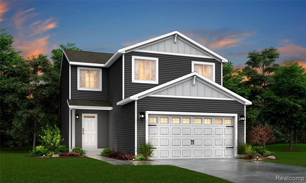 NEW CONSTRUCTION 4 bedrooms, 2.5 bath home, to be complete OCT/NOV 2021, RESNET ENERGY SMART NEW CONSTRUCTION-10 YEAR STRUCTURAL WARRANTY. Welcome home to our newest floorplan with over 1800 sq. ft. of living space on 2 levels that combine function and style. Starting at the covered porch leading into the foyer, past the powder bath into a large great room. The great room is open to the dining nook and kitchen. The kitchen will feature castled cabinets, a breakfast bar with pendant lighting, granite counters, and a tile backsplash. The mudroom, accessed from the kitchen and/or garage is super convenient and great for storage. Venture upstairs where you find a master suite complete with WIC and a private full bath. 3 more bedrooms, another full bath, and a laundry area complete the home. The patio provides outdoor space. The home is 28 yrs newer than other homes for sale in the same price range. Landscape package and sod are included. RD, VA, and FHA friendly.
