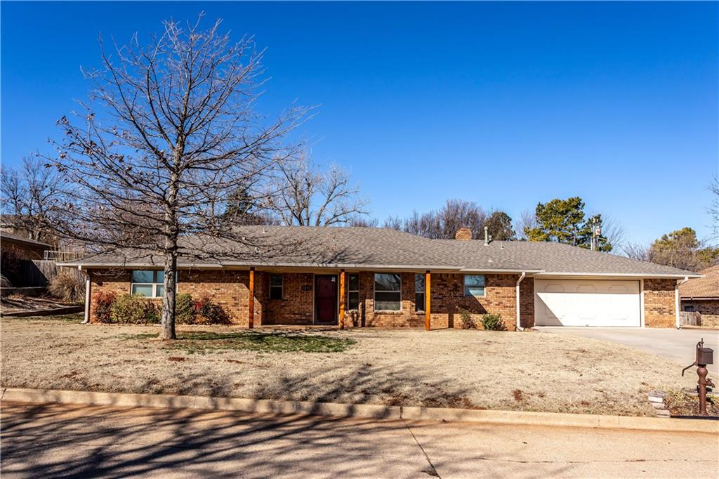 This lovely Grandview home is move in ready. The home has 3 spacious bedroom with lots of closet space and extra storage in the hallway. Ceiling fans in every room. The spacious kitchen features stainless steel appliances, granite countertops, tumbled Marble backsplash and can lighting and is open to the dining area. The living room features a fireplace and bookshelves and French doors leading to the beautiful sunroom. The sunroom is heated and cooled for entertaining or just year round enjoyment and it overlooks a beautiful backyard. The backyard features 2 new hydrants and lots of flagstone for a large patio area. New roof in December 2017. Whole house Generac in 2018. They replaced heating/cooling unit in sunroom in 2019. New blinds, paint throughout. Sprinkler system. Storage building and an over-sized double garage. A great place to call home!