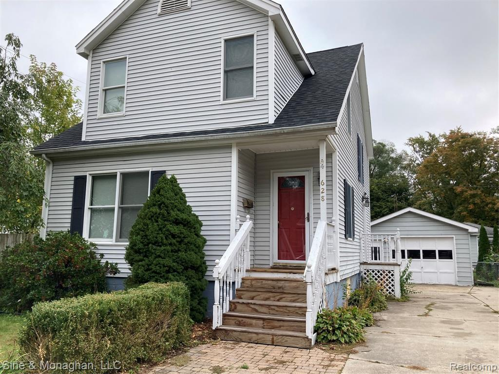 Immediate possession. 3 bed, 1.5 bath. Newer air conditioner, furnace, roof. Updated wiring. Anderson windows throughout. Gas log fireplace in living room. Patio door onto large deck overlooking fenced in yard. Located on dead end street.