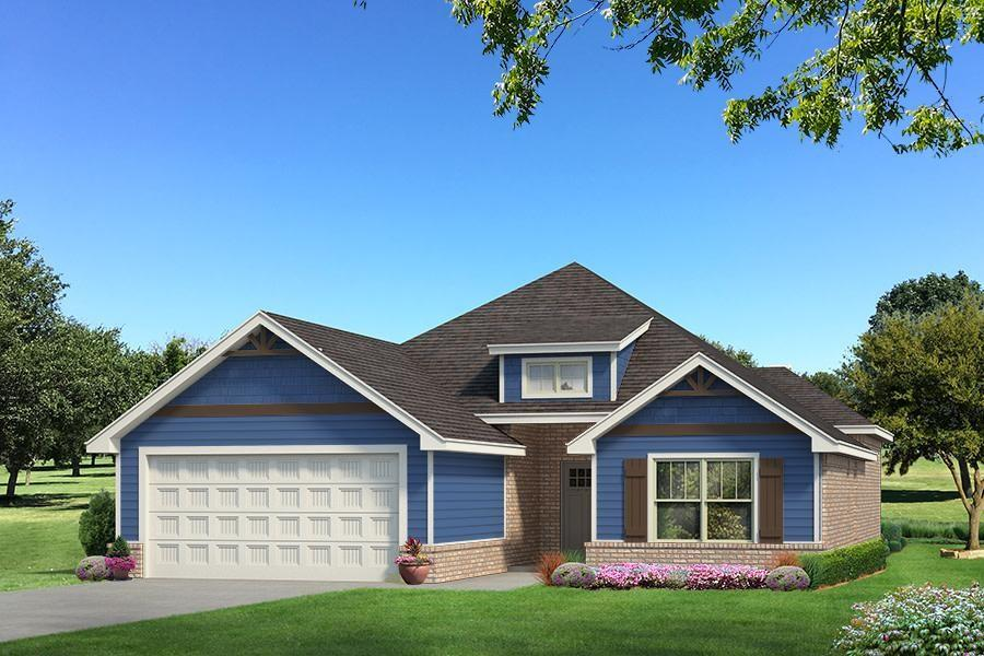 You will LOVE this Julie floor plan in Delmer Lakes North! It includes 1,830 Sq Ft of total living space, which includes 1,700 Sq Ft of indoor living space and 130 Sq Ft of outdoor living space.  There is also a 395 Sq Ft, two car garage that has a storm shelter installed! This Julie has 4 bedrooms and 2 bathrooms. The Master suite that has raised ceiling detail, walkin shower, and HUGE master closet with seasonal hanging and access to the laundry room! The large living room has a gas fireplace and large windows for natural light! The beautiful kitchen is open to the living room, making it great for entertaining! 3 CM quartz counter tops, stainless steel appliances, fun backsplash, and white custom cabinetry are just a few features that this kitchen has to offer! The outdoor fireplace, gas hookups, and cable outlets scream are great for entertaining! Other amenities that this has to offer include a whole home air filtration system, Rinnai Tankless water heater and R-44 insulation!