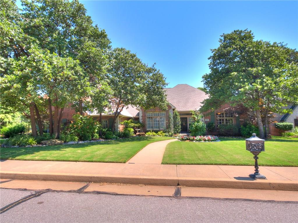 Stunning home with gorgeous mature landscaping and pool! This is truly a special home built to exacting standards and meticulously maintained and updated over time. The woodwork in this home is exceptional and something you don't find in the current market. This 4BR/3.5BA home features two living and dining areas with a great flow for entertaining! The wood floors throughout the home are truly stunning. The kitchen is a chef's delight and opens nicely to the living and dining. The master is over-sized and features spa level bath with ample storage. The three spare bedrooms are all very nicely sized with tons of storage! The outside with pool is an oasis for vacationing at home and the grounds all around the home are wonderful and inviting with loads of beautiful trees! Bring your pickiest buyers to this one - you will not be disappointed!