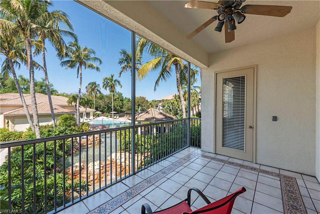 The Best of Pelican Bay!  This spacious 3 bedroom condo has a huge west facing lanai with sunsets every evening!  Open concept with split bedrooms for privacy and a 2 car attached garage for all your toys!  Hardwood floors throughout the living area, laundry room, high ceilings, walk-in closet.  Being a part of Pelican Bay means enjoying the best life in SWFL with tons of open space and parks, jogging paths, full access to private beach dining, tram cars to shuttle you through the mangroves to your own beach oasis, and 3 minutes to Mercato and some of the best restaurants and shopping in the USA.  This unit is priced to sell quickly!