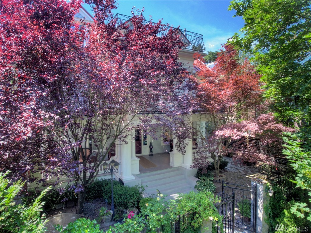 Unique opportunity to own a classic home, built in 1905, just off Volunteer Park. Located in Seattle's top rated neighborhood. Old World charm enhanced with modern Bosch and Miele appliances. Very rare for this area attached 2 car garage with access from the alley. Recently fully remodeled. Very well insulated. Hardwood flooring on all 3 floors & high ceilings and spacious, sunny kitchen/dining. Lovely outdoor living spaces and mature plantings. Pocket doors. Cozy and ready to be occupied.