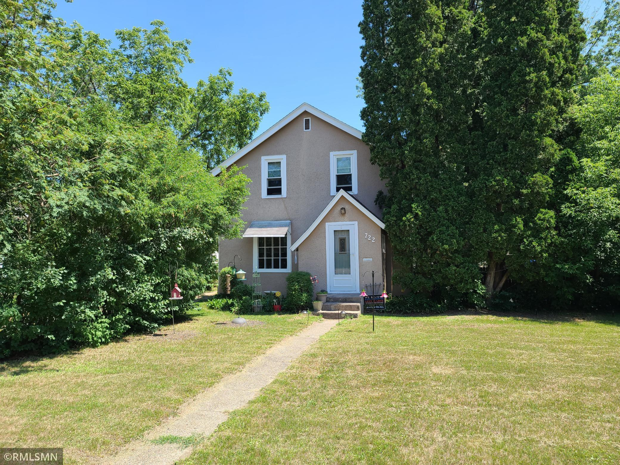 Here is your opportunity to build sweat equity! This 4 bed, 2 bath home doesn't need much and features a detached garage, fenced back yard, back deck for all your summer activities, and a main floor master!