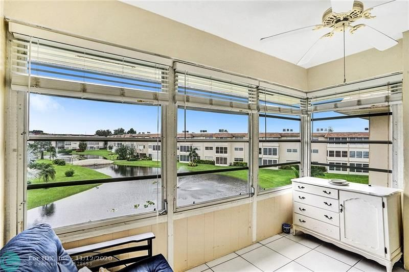 JUST SIT ON YOUR BALCONY AND ENJOY THIS BEAUTIFUL VIEW OF THE LAKE AND CLUB AREA.  REALLY WELL MAINTAINED 1 BEDROOM 1 BATHROOM IN THE KARISA BUILDING IN PHASE 4 OF HAWAIIAN GARDEN.  THIS UNIT CAN BE SOLD TURN KEY IF YOU WANT.  PLEASE ENJOY THE VIDEO AND YOU WILL FALL IN LOVE WITH IT.