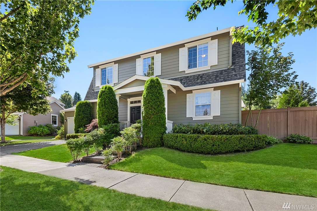 IMPECCABLE move in ready 4 bed 2.5 bath ~2,400 s/f! A/C throughout, located on a beautiful & quiet street, green belt across street makes for privacy & nice view along w/ access to Snoqualmie trail! Walking distance to Cascade view Elementary. Refinished hardwoods, outside paint 2018, new carpet throughout the entire home 2018 Beautiful 5 piece master bathroom w/ heated floors with large walk in closet! New deck in the back in 2018 & privacy trees provide great space for entertainment