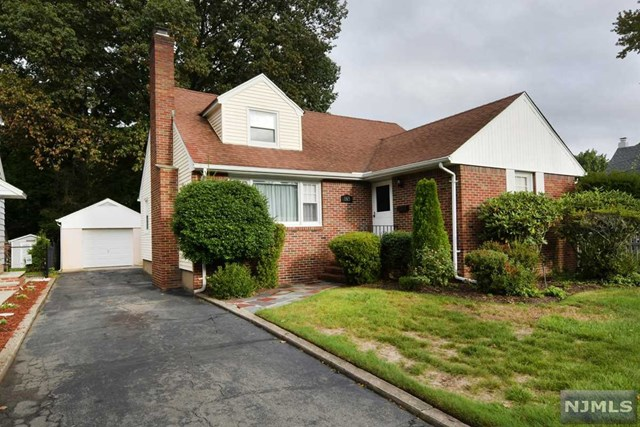 Deceptively large expanded brick cape, on prime street in desirable Fairmount section of town! Just 2 blocks from Maywood border! Almost 2,000 square feet of living space PLUS a huge finished basement! And an oversized property! 150' deep! Opportunity knocks and the potential is excellent! Features include 4 Large BRs w/option for MBR on 1st or 2nd flr! 2.5 baths - 1 conveniently on each flr & bsmt! 1st has entry foyer, large open living rm into dining rm, large eat in kitchen, 3 season Sun Rm, Full Bthrm, & 2 LG BRs. 2nd Flr has 2 huge BRs, a Large dual Walk In Closet, & 2nd full bathrm! And Bsmt is terrific! could be great Rec Rm/Play Rm/Gym or more! Bilco dr from bsmt! Also new electric panel, and new Hot Water Heater! All this & a 1 car garage, & just a few blocks from NYC bus, neighborhood Staib Park, shopping & more! Priced to sell in current condition! Dont miss !!