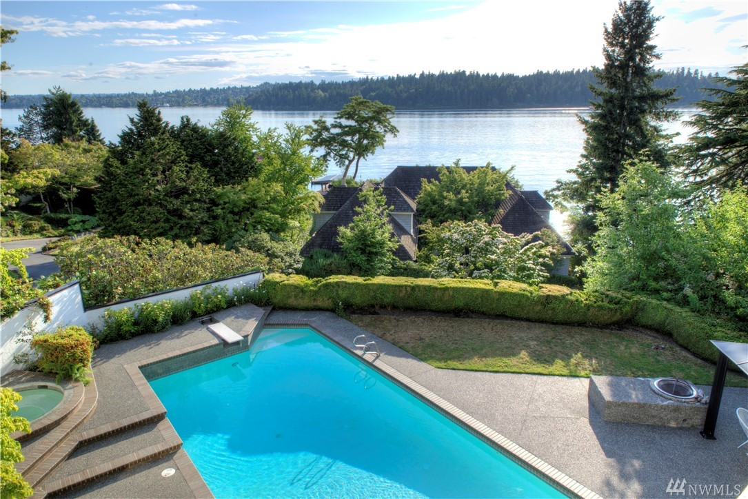 It's not the sunsets over Seattle's skyline & lake that makes this home incredible. It's not how every inch of indoor and outdoor living is a private retreat. Is it the ability to entertain ANY size social? What makes this home truly unique is how it's so warm and nurturing while being so spacious and inspiring. Lake views even from basement and hot tub/pool/cabana. A perfectly laid out kitchen in the heart of the home. Masterfully designed master suite above it all. 3-car garage + 6-car drive.