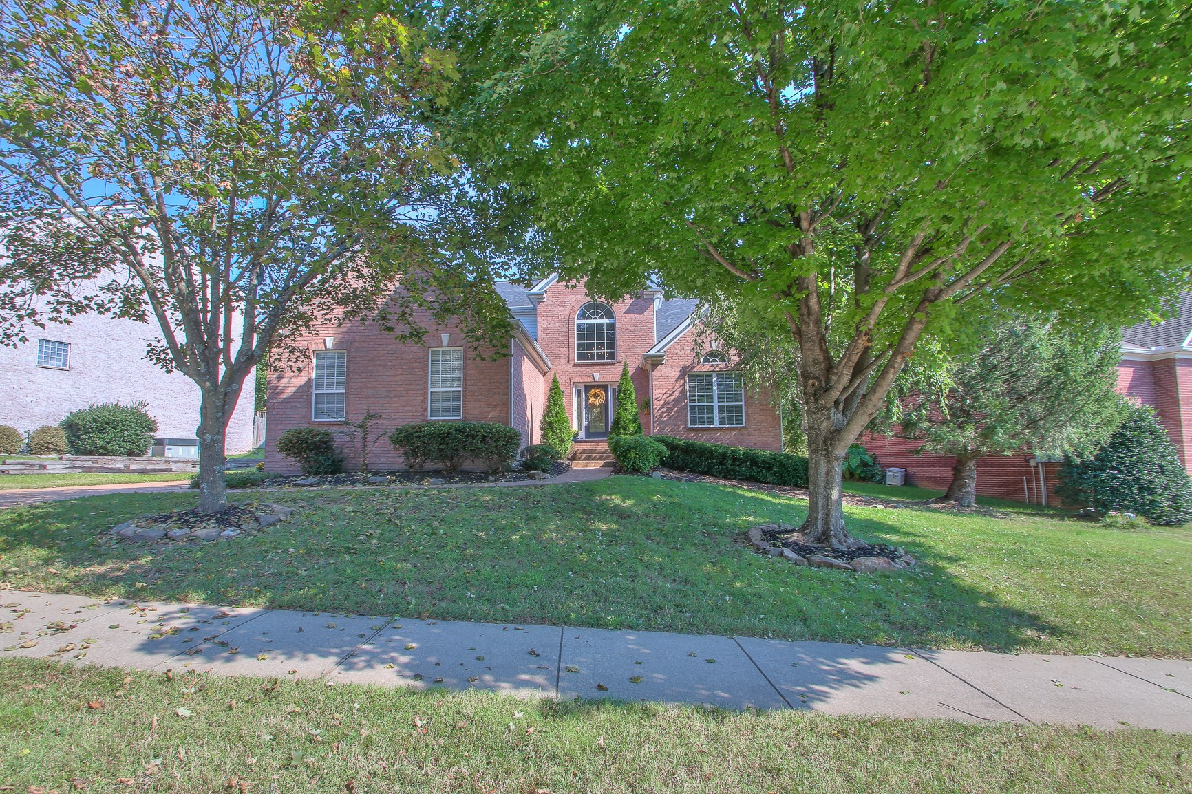 Open flowing Master Down plan with vaulted first floor ceilings ~ Granite Tops ~ Solid Hardwood flooring ~ Newer Carpet ~ Side entry Garage ~ Private Fenced Back yard with cool Patio  ~ Newer Carpet ~ Newer Water Heater ~ Brand New Roof ~ A+ McKays Mill Amenities ~ Incredible Cool Springs location in the Towne Park section of McKays Mill !