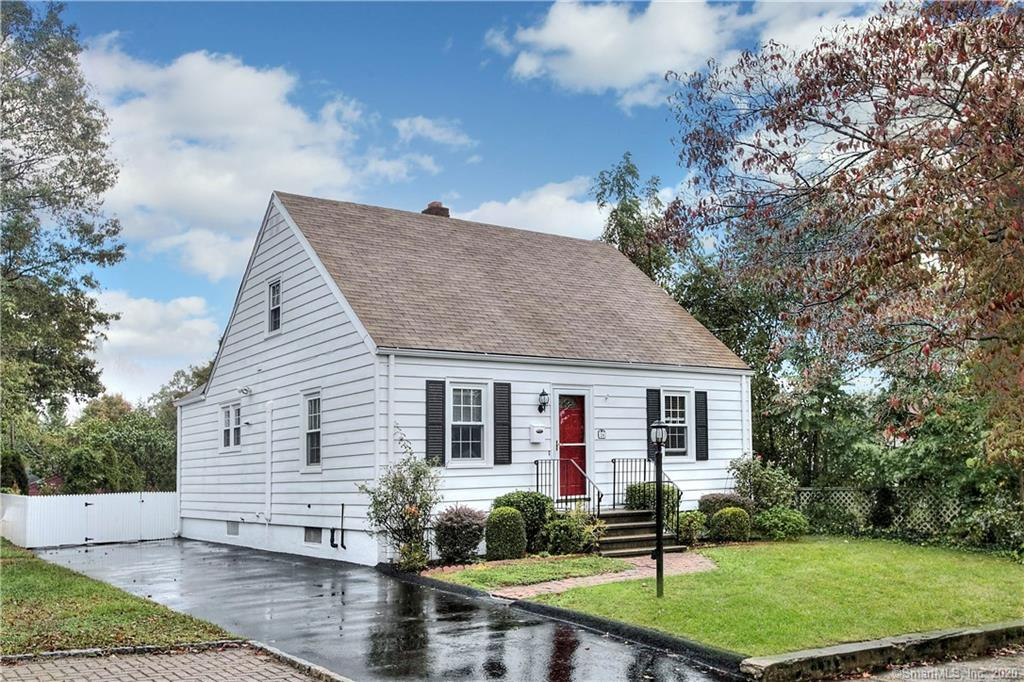 """""""Turn the key"""" and move into this charming Cape Cod with updated kitchen and bath. Hardwood flooring and updated windows. Partially finished lower level provides storage galore. Convenient to shopping, schools and I-95. Beautifully maintained home with lovely gardens."""