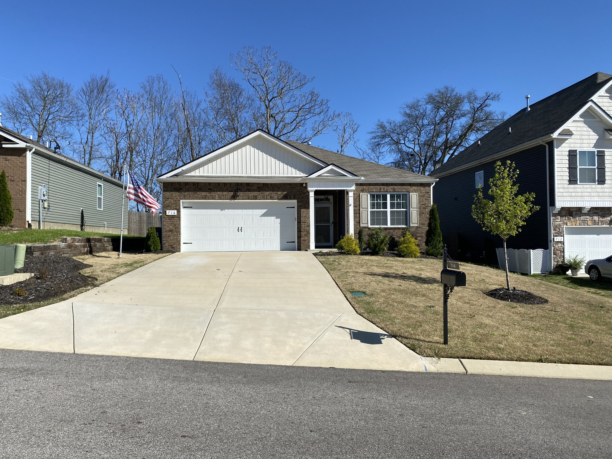 It's the less than 300K, one story home you have been searching for! Enjoy amazing sunsets on the community walking trails in this 3 bed, 2 bath home. Open kitchen with all stainless steel appliances. Upgrades including shiplap bedroom, extended back deck, beautiful landscaping, and much more. Walking distance of elementary school and Fire station. This home won't last long!!