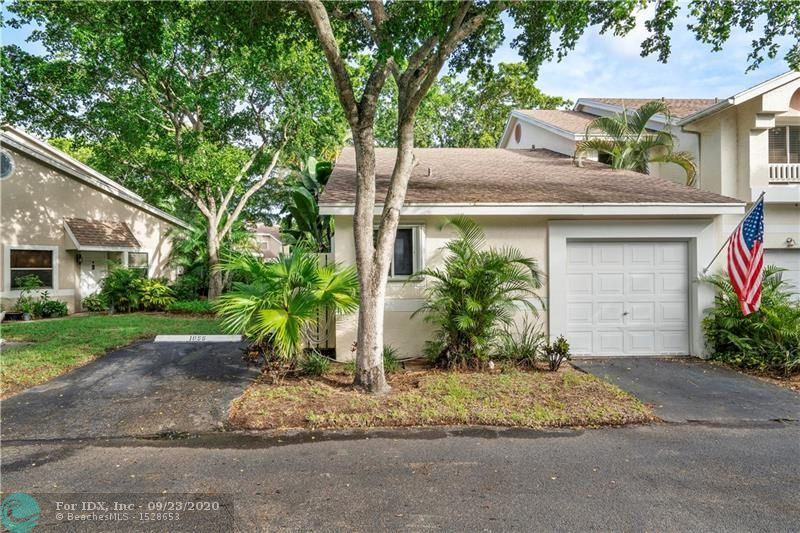 Stop looking!You will feel right at home the moment you step inside this Corner 1 story Villa w/beautiful interior, boasting coastal decor,and cozy decoration touches in the Gated Community of Discovery Pointe.The Completely Renovated 2/2 with a garage features an Open Floor Plan Concept with Expanded Gourmet Kitchen w/sunny skylight,SS appliances,beautiful white cabinets & lots of storage.Both bathrooms have been renovated with taste. Tile floors throughout entire unit.Furniture negotiable.Enjoy privacy on your screened patio w/ amazing water views.Washer/Dryer in unit. Tinted windows&Hurricane Shutters.Low and very well maintained HOA includes Roof, Exterior Insurance&Lots of Amenities.Great location, next to shops, dining, I95, Turnpike & Sawgrass.No wait to lease and 1 pet under 40lbs.