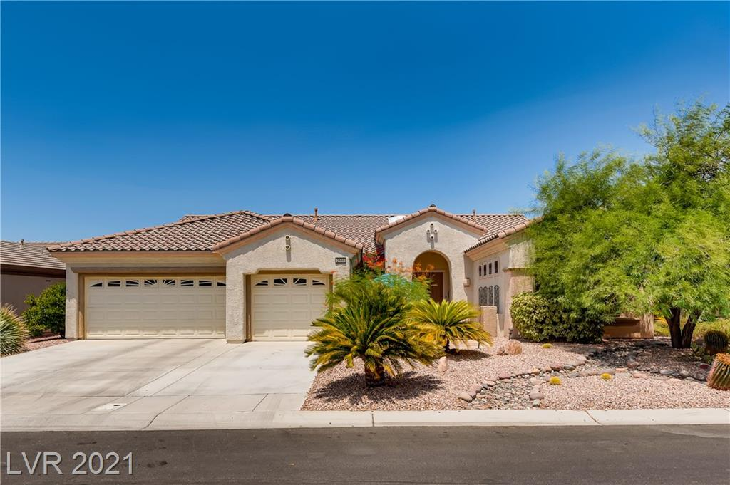 WELCOME HOME TO THIS STUNNING RESIDENCE IN BEAUTIFUL SUN CITY ANTHEM…HIGHLY DESIRABLE  CONCORD MODEL 2,576 SQ. FT. WITH 3 FULL CAR GARAGE ON A CORNER LOT…CUSTOM KITCHEN CABINETS, NOOK WITH DOOR TO BACK PATIO, ELECTRIC APPLIANCES, SEPARATE PANTRY....OFFICE WITH CUSTOM BUILT-INS.…PRIMARY AND LARGE GUEST BEDROOM BOTH EN SUITES PLUS ADDITIONAL ½ BATH, PRIMARY BATH WITH TUB AND WALK IN SHOWER, SPACIOUS WALK-IN CLOSET…. OPEN GREAT ROOM WITH WETBAR AND REFRIGERATOR.. 2 SKYLIGHTS....CROWN MOLDING...LARGE TRANQUIL COURTYARD IN FRONT…. LOTS OF ROOM FOR BACKYARD ENTERTAINING, LARGE COVERED PATIO AND BUILT-IN BBQ. EPOXY FLOOR IN GARAGE, TONS OF CUSTOM STORAGE CABINETS, NEW EVAPORATIVE COOLER.  CONVENIENT TO ANTHEM REC CENTER WHICH OFFERS FITNESS CENTER, INDOOR AND OUTDOOR POOLS AND MANY OTHER AMENITIES.