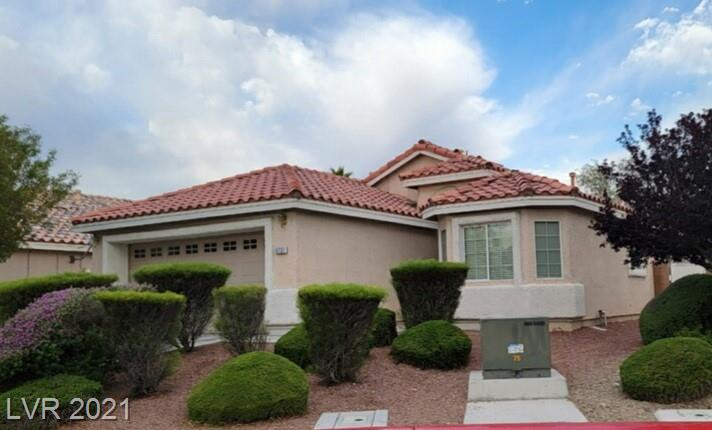Located in a secluded gated community in the Aliante! This single story home offers a spacious floorplan with 4 bedroom 2 Bathrooms and the best part is the spacious backyard. Open floorplan with tile and upgraded carpet throughout. Close to the 215 freeway, shopping centers and community parks!