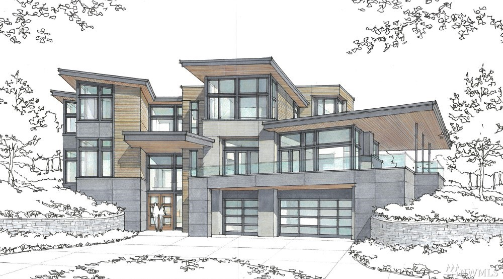 "Dramatic entry with statement wine room, custom floating steel stair, and elevator for ease of 3 story access. Great room features 12ft ceilings, sleek steel-paneled fireplace, floor to ceiling windows, and custom sliding door to capture lake views and seamlessly connect to deck. Chefs Kitchen includes 48"" Wolf range, 48"" Subzero fridge, floating eating bar, and convenient scullery. Master retreat flooded with light/lake views and accented by spa-like master bath. Last chance to buy in Portofino"