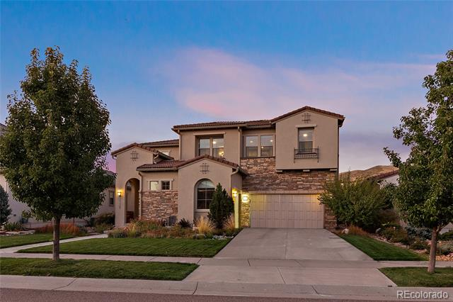 Brand New to the Market! Infinity Home Collection Avanti Plan 2 in Solterra Colorado!Here is your opportunity to Own an Infinity Home that backs to Open Space! This home has it all… soaring 2-story spaces flooded with natural light. 20' sliding stacking doors leading to a huge, covered patio that has an awesome view of Green Mountain. Master bedroom double sheet rocked with additional Insulation.Fully landscaped front and back yard with outdoor Fireplace. Over sized 3-car garage. Bosch® appliances including 2 dishwashers, Massive Kitchen Island and custom finishes. Brand New Finished Basement with Wet bar, Bedroom( double sheet rocked for sound privacy) , Full Bath and Large Recreation Room. Walk to the Solterra Retreat and pool. Infinity Home Collection screams Quality-don't miss out on this home and location.
