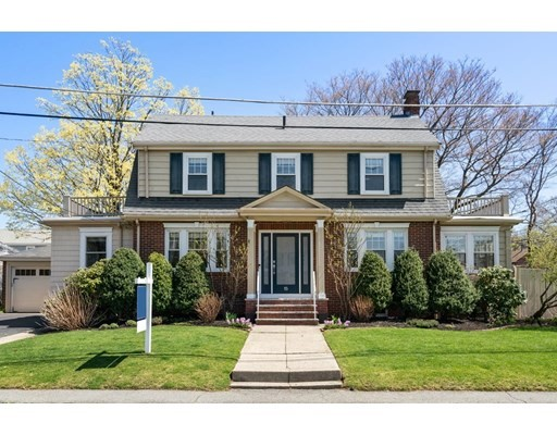LOCATION, LOCATION, LOCATION…Beautiful, colonial on corner lot in sought after Lawrence Estates. Walk right into this home through the renovated front entrance which opens to sunlit front to back living room w/fireplace and formal dining room w/wainscoting & crown moldings.  Perfect 1st floor window-filled office w/glass doors & cozy family room with brick accent wall.  Updated kitchen w/ breakfast bar, granite counter tops and stainless steel appliances round out the 1st fl. The 2nd floor boost large master bedroom, 2 additional bedrooms & full bath. Walk out to the fenced in large backyard with patio for great outdoor living. The highlight of this neighborhood is the access to the Fells Reservation at the end of the street. Convenient access to Medford Sq. shops & restaurants, public transportation, minutes to Boston & Logan.  Don't miss this rare opportunity to get into Lawrence Estates!  Call for a private showings  Friday, April 16th 3:00-5:00pm & Saturday April 17th 11:00-1:00pm.