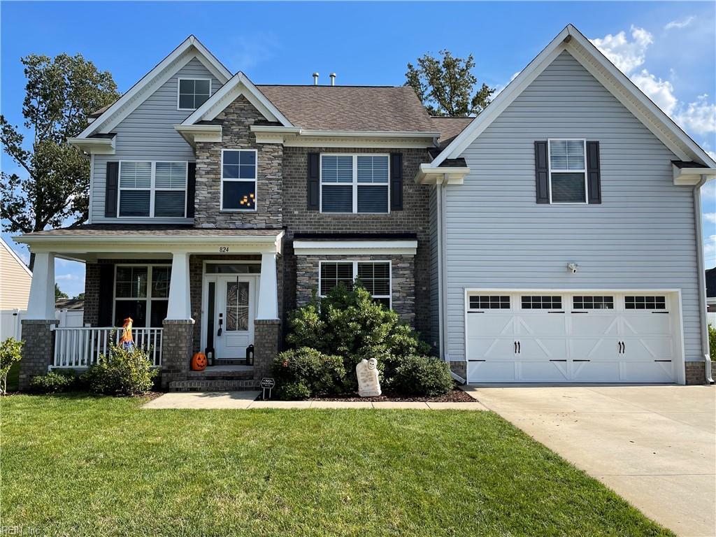 824 CHAPEL HILL Drive, Chesapeake, VA 23322