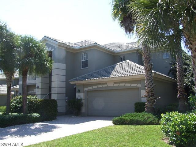 The BEST deal in Osprey Pointe! Perfectly situated in one of the top communities in Naples. Just like a private home with only 2 units in this building. Unfurnished 3 bedrooms, 2 1/2 baths, and a 2 car garage. Windows surround this lovely unit making it light and bright. Plenty of walk-in closet spaces for all the extras. Brand new HVAC system, hot water heater and kitchen plumbing. Impeccably maintained this pristine unit is priced to sell!